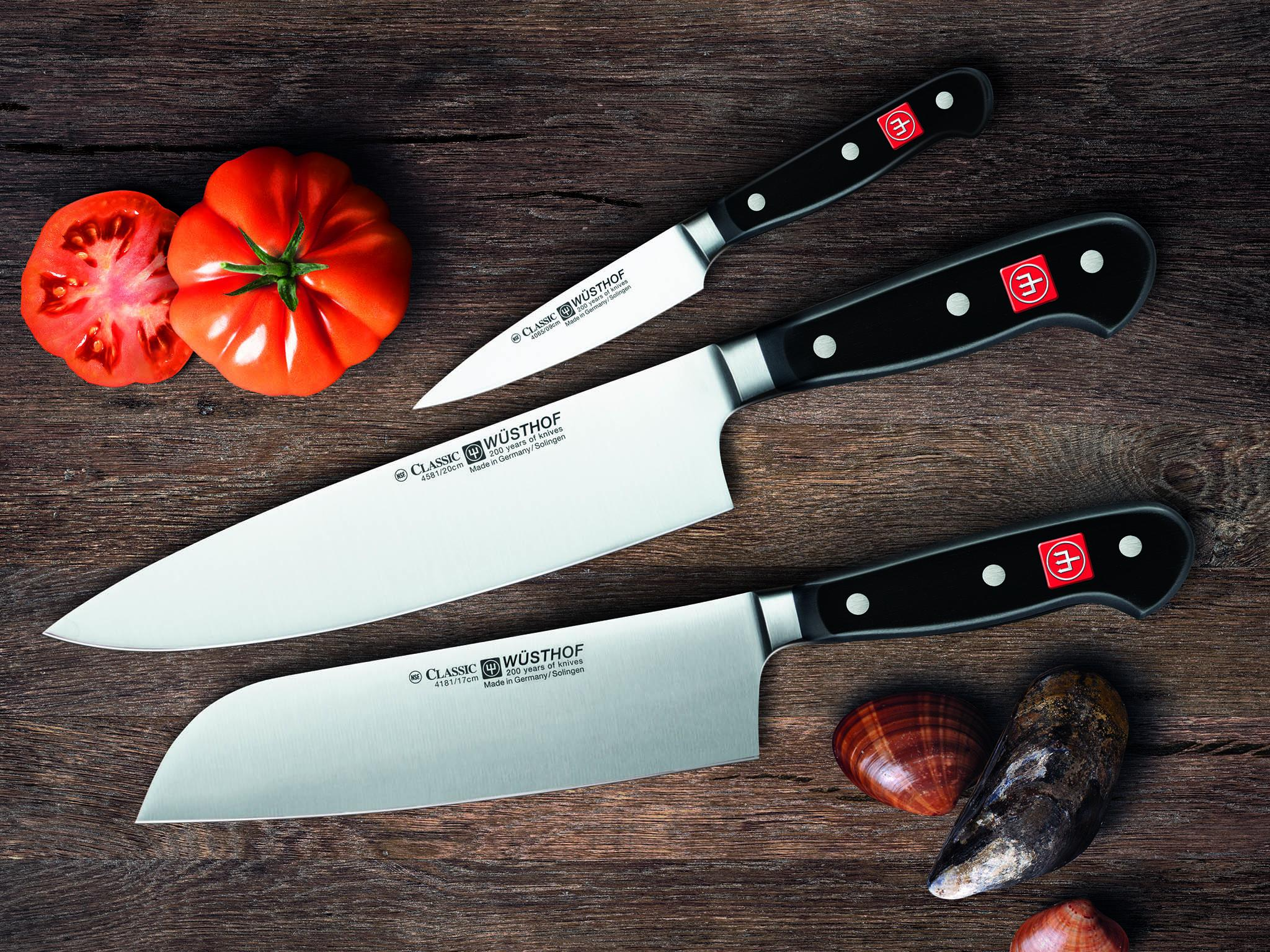 wusthof classic knives
